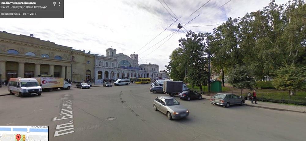 площадь балтийского вокзала