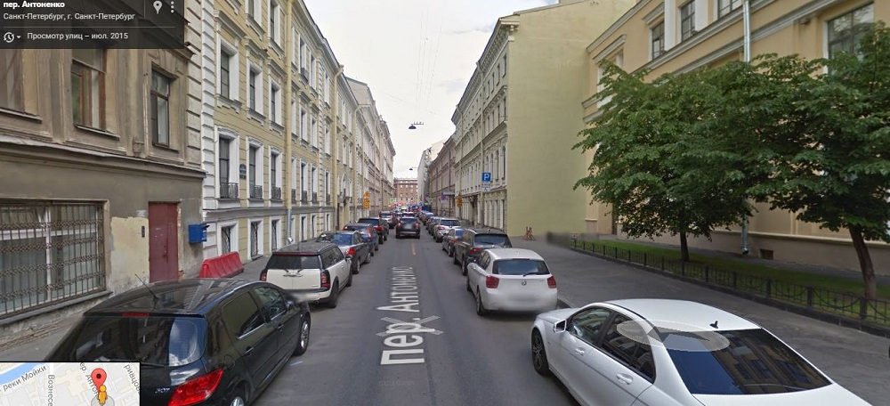 Антоненко переулок