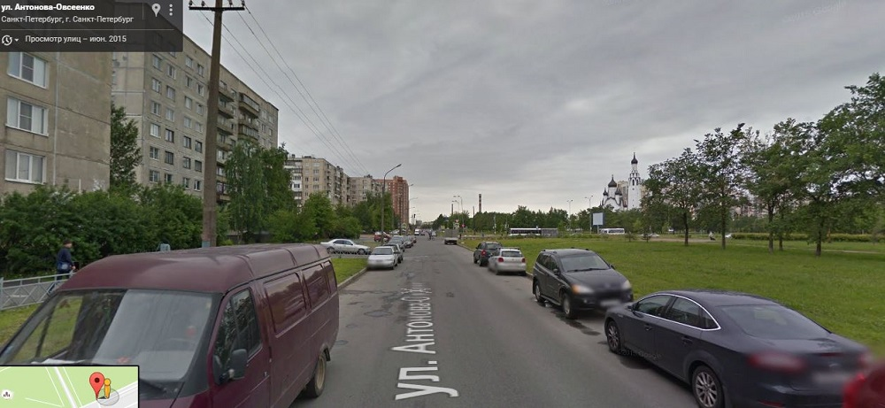 Улица Антонова-Овсеенко