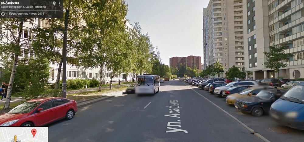 Асафьева улица