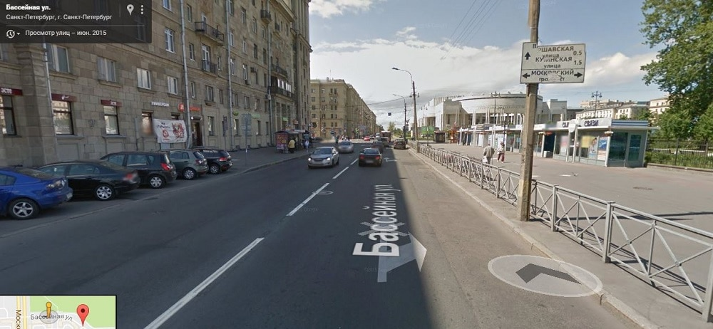 Бассейная улица