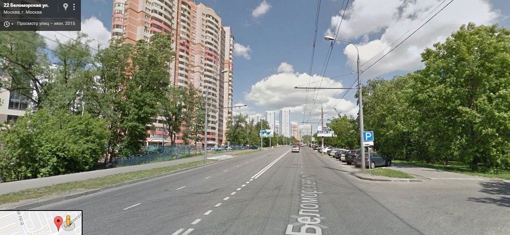 Беломорская улица