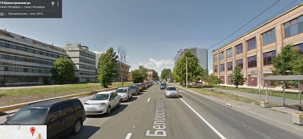 Белоостровская улица