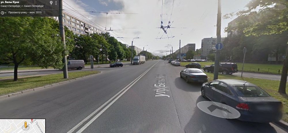 Белы Куна улица