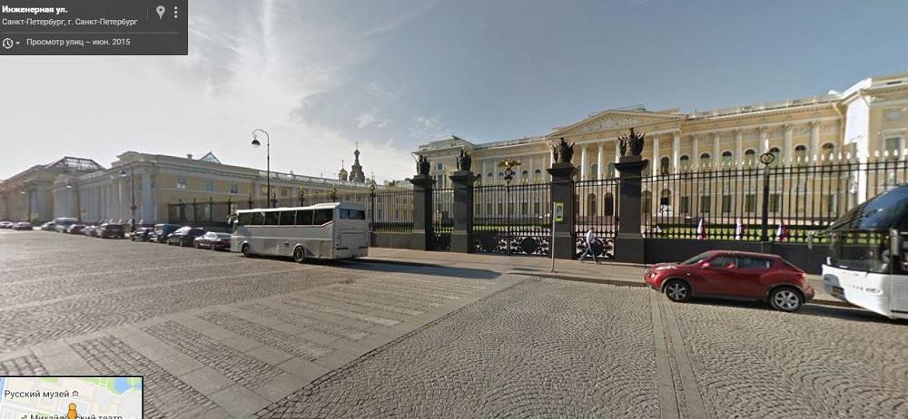 вход в Русский Музей