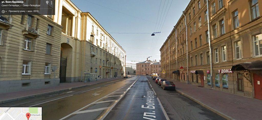Бонч-Бруевича улица