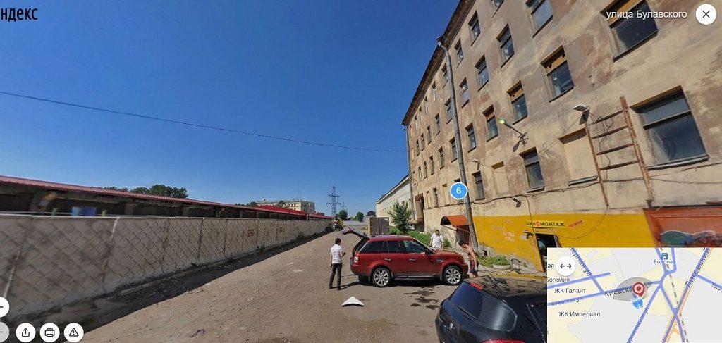 Булавского улица
