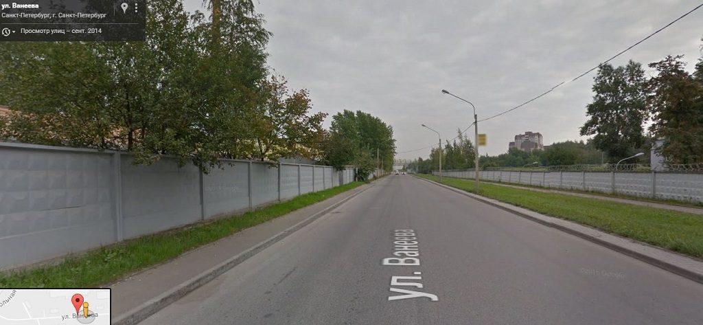 Ванеева улица
