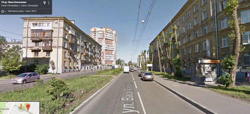 Васи Алексеева улица