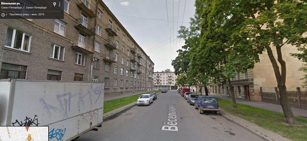 Вёсельная улица