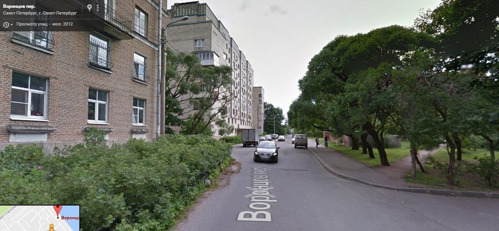 Воронцов переулок