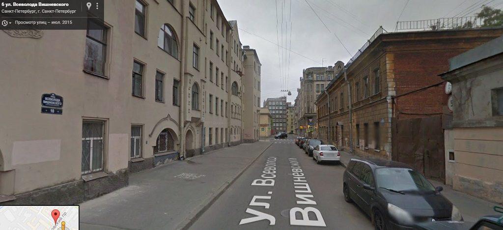 Всеволода Вишневского улица