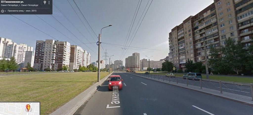 Гаккелевская улица