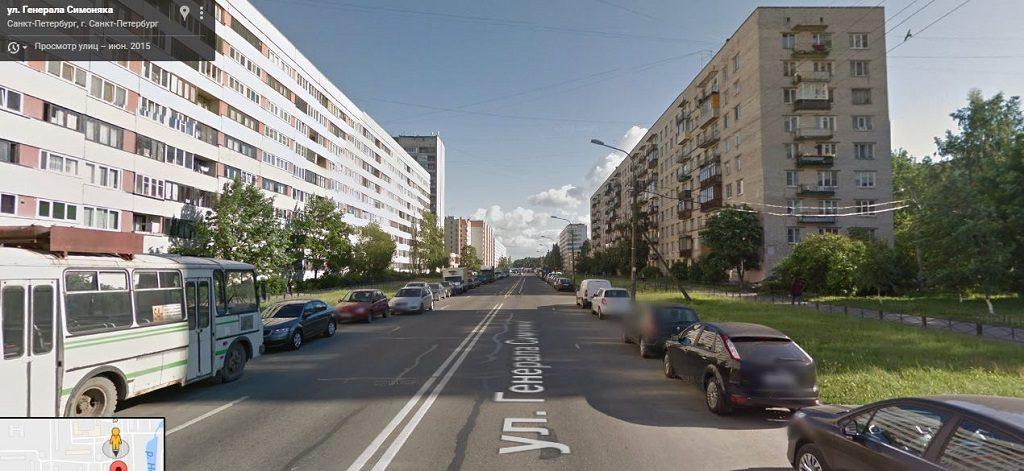Симоняка Генерала улица