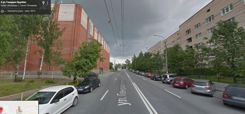 Хрулева Генерала улица