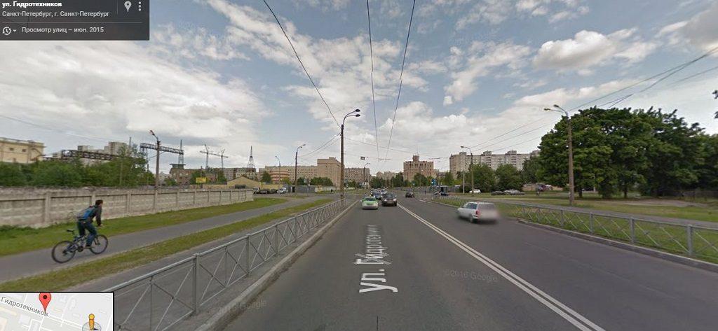 Гидротехников улица
