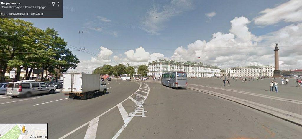 площадь Дворцовая