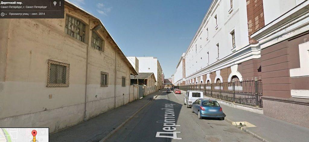 Дерптский переулок