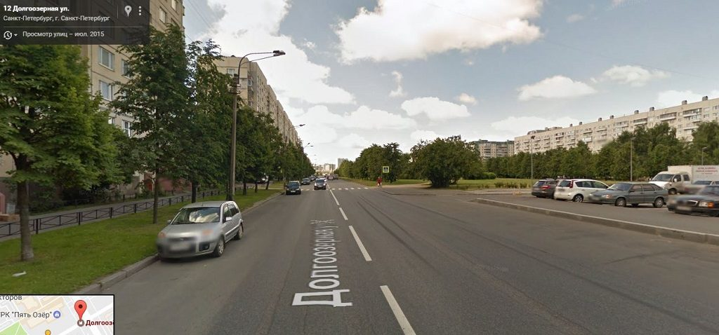 Долгоозерная улица
