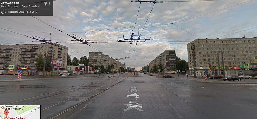 Дыбенко улица