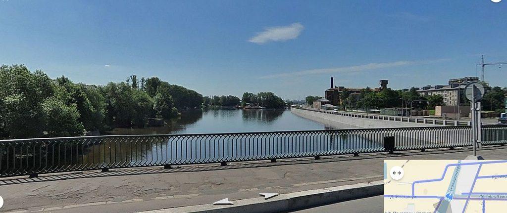 Екатерингофка река