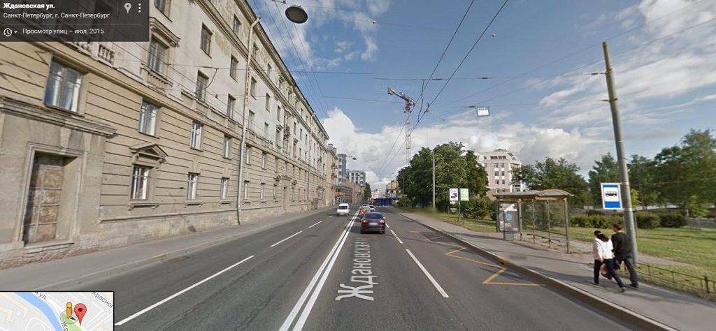 Ждановская улица
