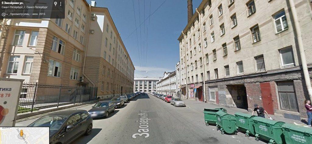 Заозерная улица