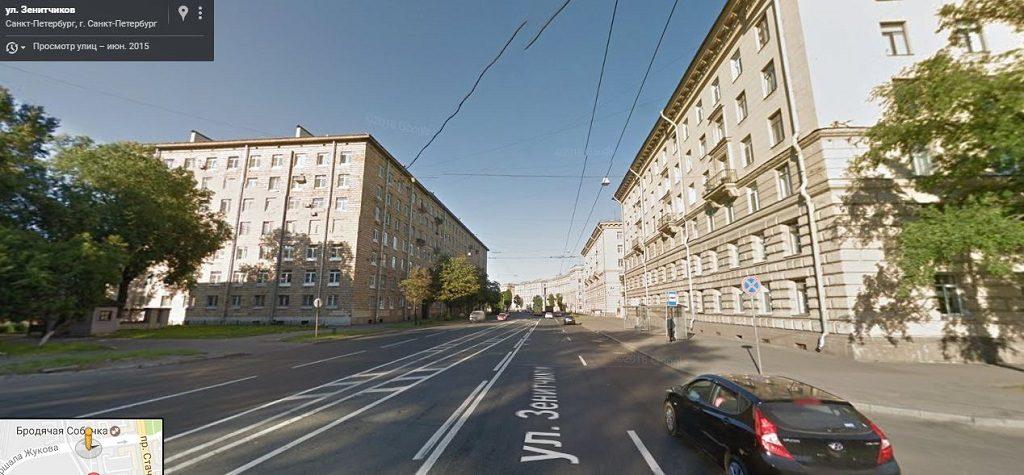 Зенитчиков улица