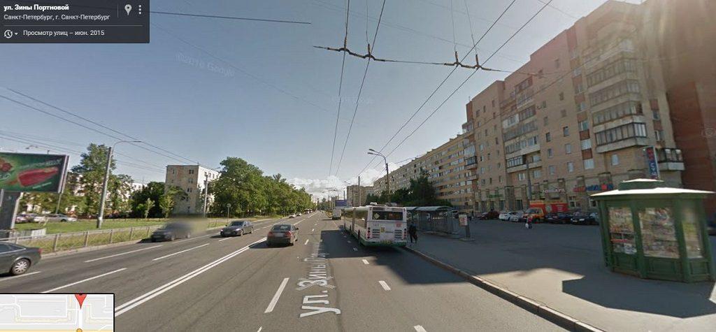 Зины Портновой улица