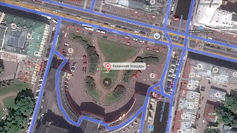 площадь Казанская