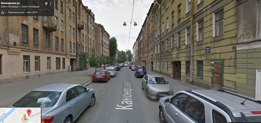 Канонерская улица