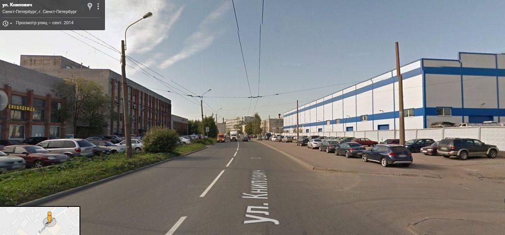 Книпович улица