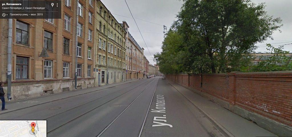 Котовского улица