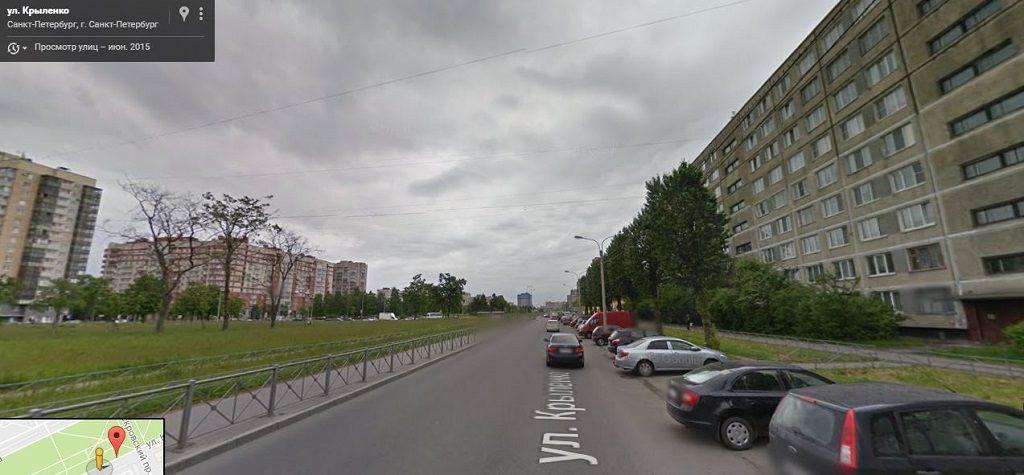Крыленко улица