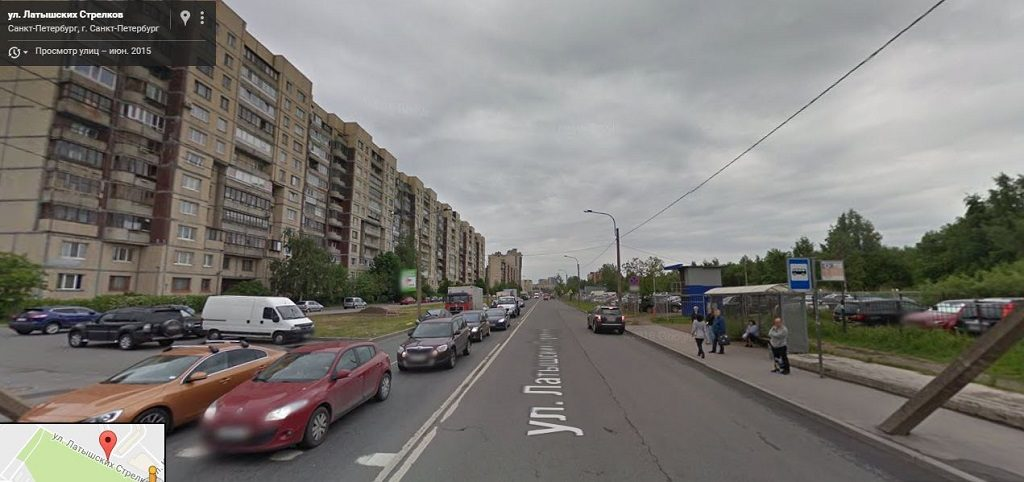 Латышских стрелков улица