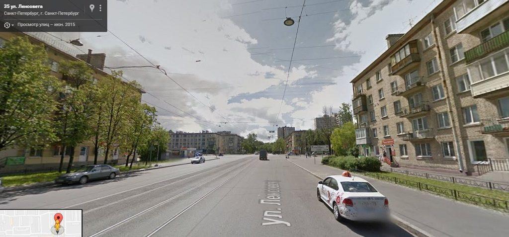Ленсовета улица