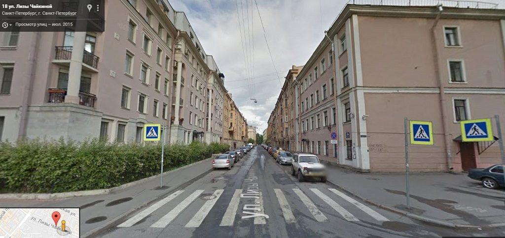 Лизы Чайкиной улица