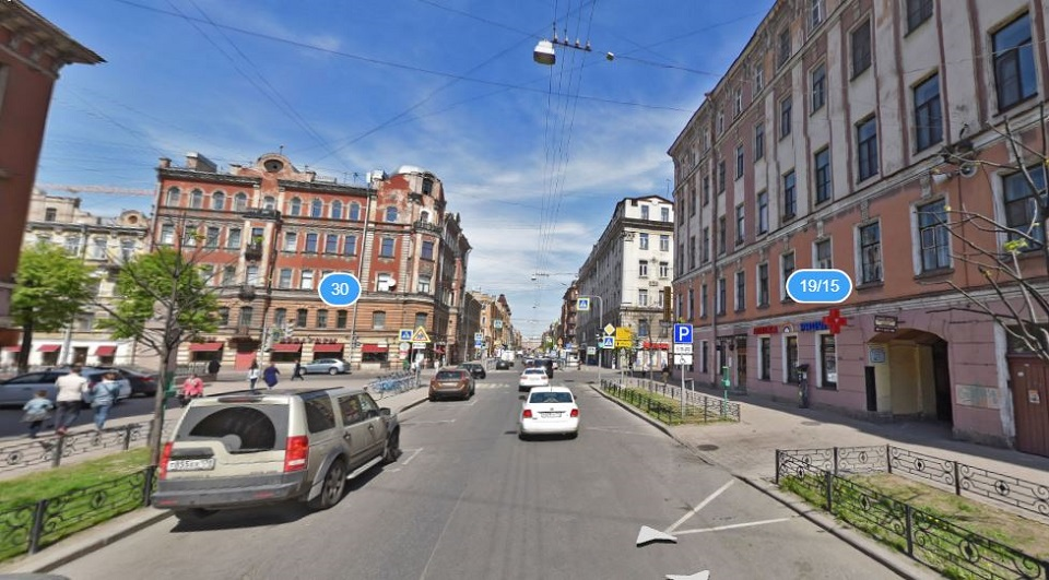 Маяковского улица