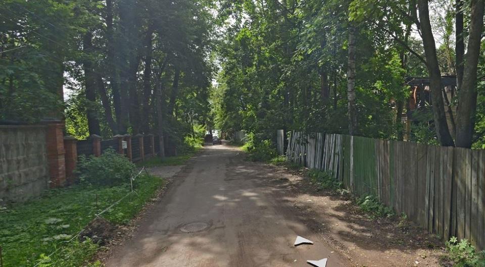 Межозерная улица